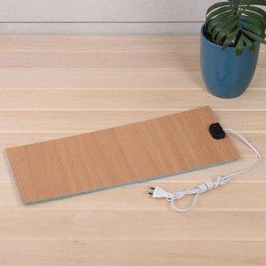 Электроподогревательный коврик для рассады, 50 ? 20 см, 15 Вт