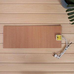 Электроподогревательный коврик для рассады, 48 ? 20 см, 30 Вт, с терморегулятором