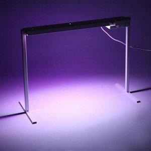 Фитосветильник светодиодный «Петромаш», Led-15, 30 Вт, 220 В, 690 мм, на подставке