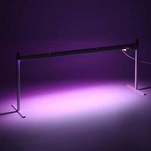 Фитосветильник светодиодный «Петромаш», Led-30, 60 Вт, 220 В, 1180 мм, на подставке