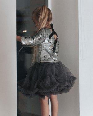Фатиновая юбка ЗЕФИР, графит