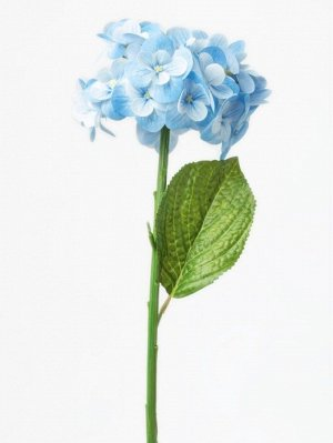 "Цветок ""Hydrangea Eype"" Floox, 16х16х50 см, цв.голубой, комбинированные материалы"
