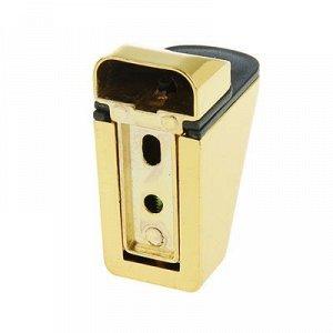 Полкодержатель PALLADIUM 61017, цвет золото полированное, 2 шт.