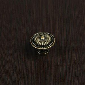Ручка-кнопка VINTAGE 002, цвет бронза