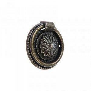Ручка кнопка VINTAGE 030, цвет бронза