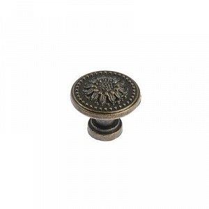 Ручка кнопка VINTAGE 011, цвет бронза
