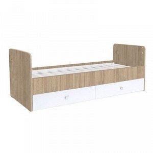 Детская кровать-трансформер «Фея 1100», цвет вяз/белый