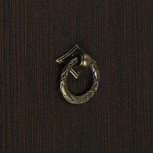 Ручка кнопка VINTAGE 027, цвет бронза