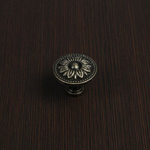 Ручка-кнопка VINTAGE 004, цвет бронза