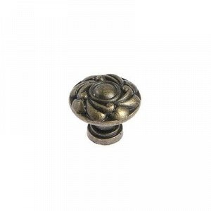 Ручка кнопка VINTAGE 014, цвет бронза