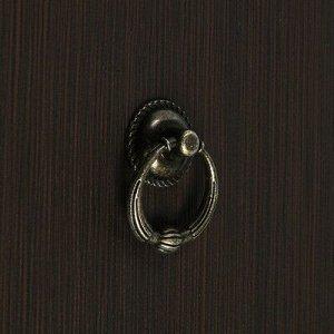 Ручка кнопка VINTAGE 028, цвет бронза