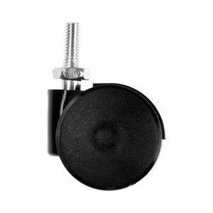 Колесо мебельное, d=35 мм, штырь М6