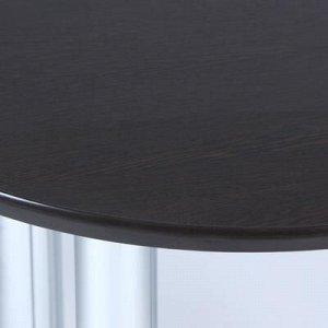 Стол обеденный овальный 600х800, Венге