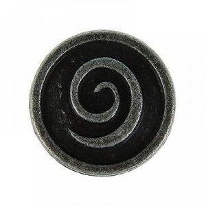 Ручка кнопка РК012ZP, цвет цинк