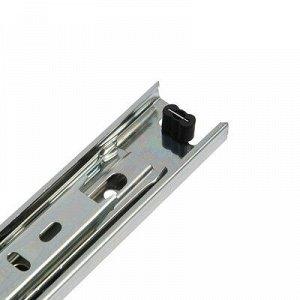 Шариковые направляющие полного выдвижения BBS-Е, L=250 мм, Н=35 мм, 2 шт. в наборе