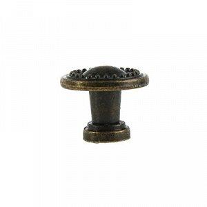Ручка-кнопка VINTAGE 003, цвет бронза