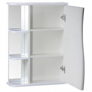 "Зеркало-шкаф ""Тура"", с тремя полками, 50 х 15,4 х 70 см"