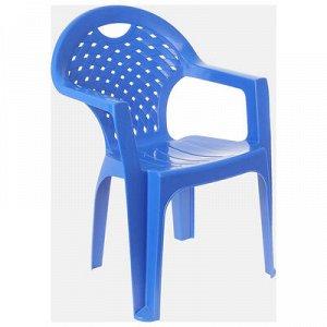 Кресло, 58,5 х 54 х 80 см, цвет синий