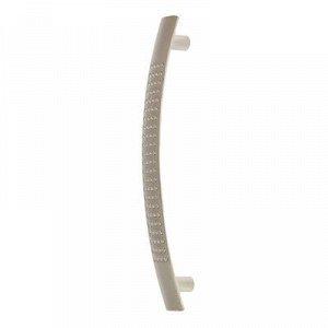 Ручка мебельная, 96 мм, цвет матовый хром