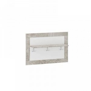 Вешалка для одежды Монтана, 900х250х600, Atelier/Белый глянец