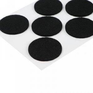 Подпятник войлочный d=40 мм, 11 шт.черные