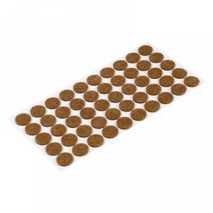 Подпятник войлочный d=20 мм, 50 шт., коричневый