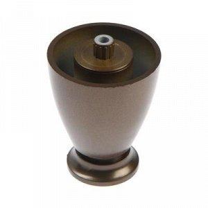 Опора регулируемая h=60 мм, цвет бронза