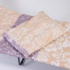 Спальный набор: раскладушка, одеяло, подушка; базовый