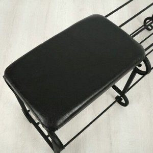 Обувница 2-х ярусная с сиденьем «Новый Стандарт», 90?32?40 см, цвет МИКС
