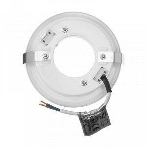 Светильник встраиваемый Ecola, GX53, 28x93, для твердых поверхностей и мебели, белый