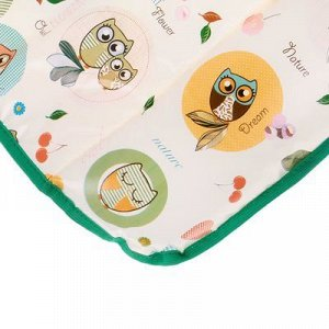 Доска пеленальная «Фея» мягкая на комод, цвет совы МИКС