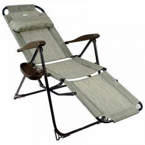 Кресло-шезлонг КШ3/4, 82 x 59 x 116 см, бамбук