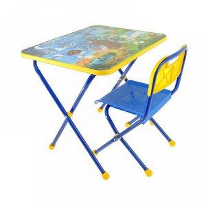 Набор мебели «Познайка. Хочу все знать!», стол, стул