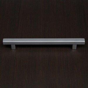 Ручка-скоба 160 мм, квадратная, хром