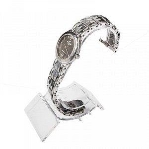 Подставка для часов, браслетов, основа 2,8*7,8 см, h=10,5 см, цвет прозрачный