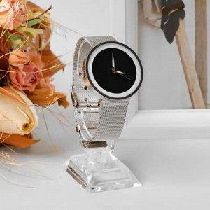 Подставка для часов/браслетов, основание 3,5*5,5*10 см, h=10 см, оргстекло 2 мм, цвет прозрачный