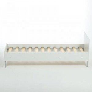 Кровать односпальная 2032х932х699 Белый