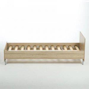Кровать односпальная 2032х932х699 Дуб сонома