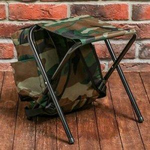 """Туристический стул-рюкзак """"Двигайся к цели"""", 32 х 28 х 34 см"""