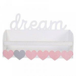 Полка детская под книги Dream, 35 х 22 см