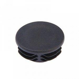 Заглушка для труб круглая, d=73, черная