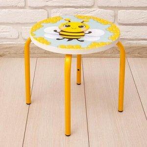 Стул-табурет «Пчелка», на металлокаркасе