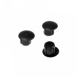 Заглушка для тех.отверстий d=5 мм, черная