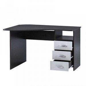 Стол компьютерный СКУ-1, 1200х830х740, Венге/Бодега светлая