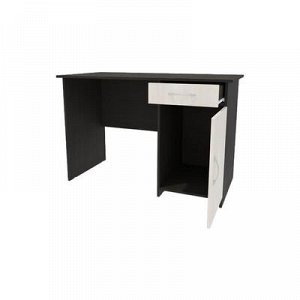 Стол письменный с тумбой, 1200х600х770, Бодега темный/Бодега светлый