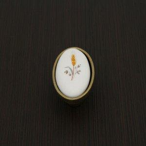 Ручка-кнопка А17-CS, цвет бронза