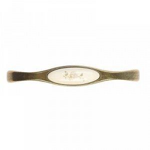 Ручка-скоба с фарфором SF10-09, 128 мм