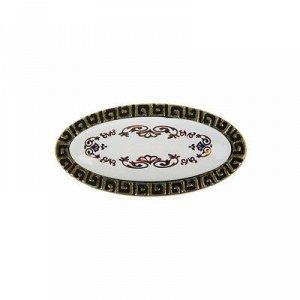 Ручка-кнопка ZY-10483-К, цвет античная бронза