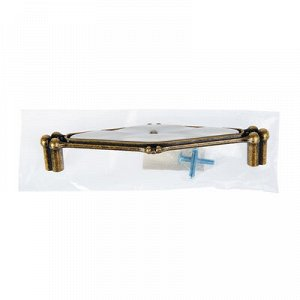 Ручка скоба РС153AB, 128 мм, цвет бронза