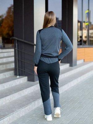 Костюм подростковый Sport Girl, цвет серый, размеры 40-46